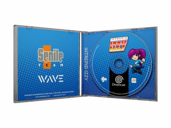 Intrepid Izzy - Dreamcast - Inside