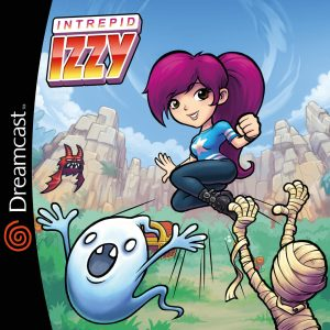 Intrepid Izzy Dreamcast US Cover